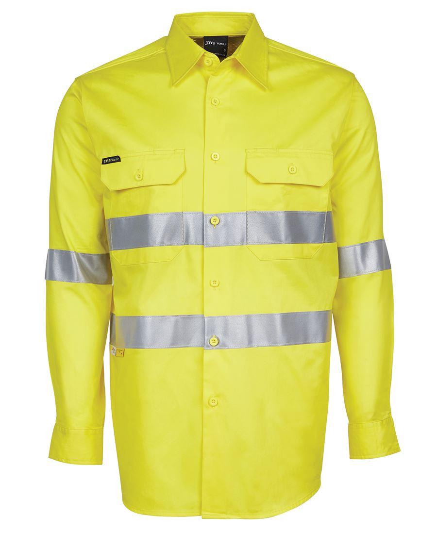 Custom jb s hi vis l s d n 150g work shirt buy plain for Custom hi vis shirts