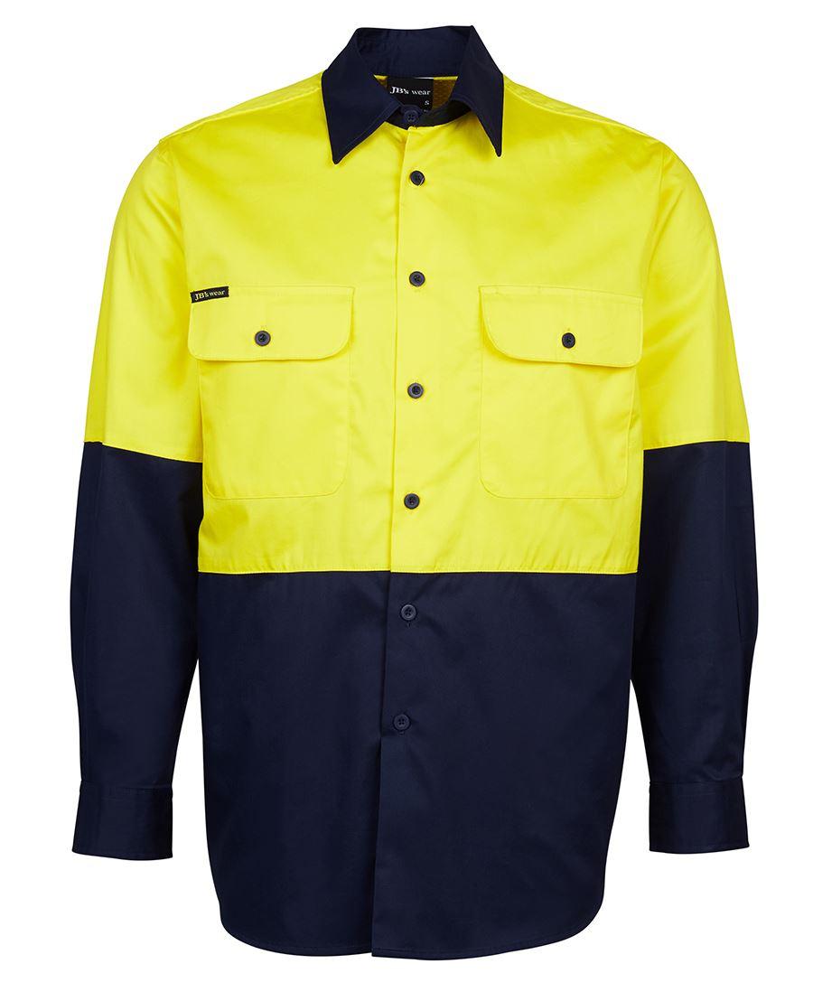 Custom jb s hi vis l s 150g shirt buy plain or customise for Custom hi vis shirts