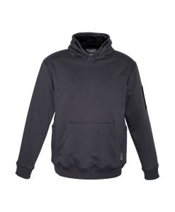 Multi-pocket Hoodie Charcoal Black