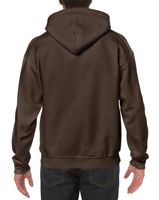 Gildan Heavy Blend plain Adult Contrast Hooded Sweatshirt top s m l xl 2xl